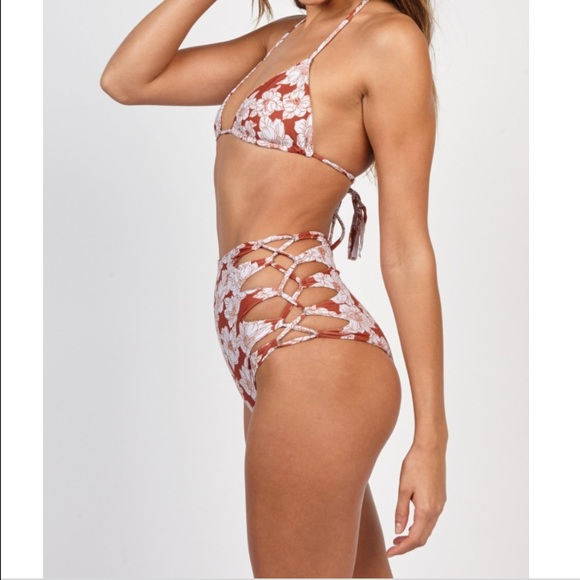 Queens Bottom in Brown. - size M (also in S,XS) Acacia Swimwear